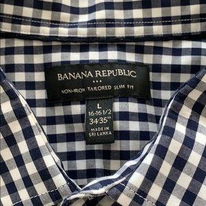 Banana Republic, Large, Long Sleeve slim fit